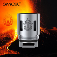 3 Pack - SMOK V8-T10 0.12ohm decuple coil atomisers