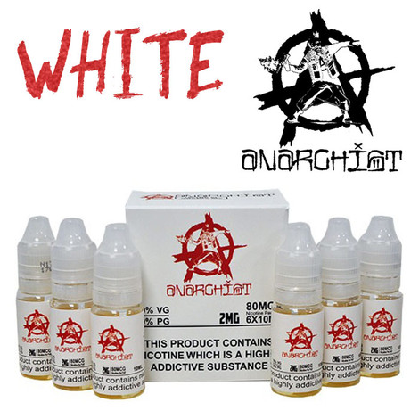 White - Anarchist e-liquid - 75% VG - 60ml