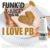 I Love PB - Funk'd e-Juice - 75% VG