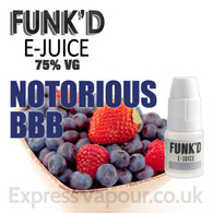 Notorious BBB - Funk'd e-Juice - 75% VG