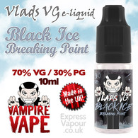 Black Ice Breaking Point - VLADS VG - 70% VG - 10ml