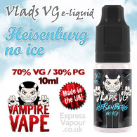 Heisenberg No Ice - VLADS VG - 70% VG - 10ml