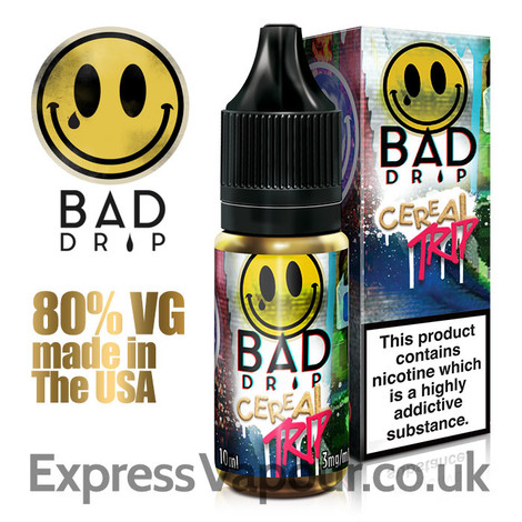 Cereal Trip - by Bad Drip e-liquid - 80% VG - 10ml