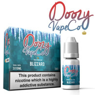Blizzard by Doozy Vape e-liquid - 70% VG - 30ml