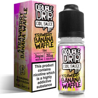 Strawberry Banana Waffle by Double Drip e-liquid - 80% VG - 10ml