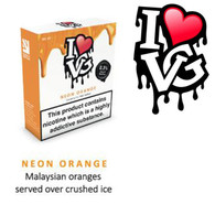Neon Orange by I LOVE VG e-liquid - 70% VG - 30ml