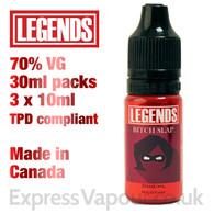 Bitch Slap - LEGENDS e-liquid - 70% VG - 30ml