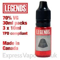 Daddy Issues - LEGENDS e-liquid - 70% VG - 30ml