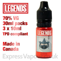Exterminator - LEGENDS e-liquid - 70% VG - 30ml