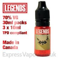 Sneaky Sneaky - LEGENDS e-liquid - 70% VG - 30ml