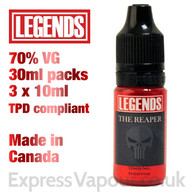 The Reaper - LEGENDS e-liquid - 70% VG - 30ml