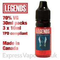 Thunderbolt - LEGENDS e-liquid - 70% VG - 30ml