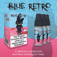 Blue Retro Psycho Bunny by ECO VAPE - 70% VG - 30ml