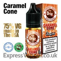 CARAMEL CONE - The Drip Company e-liquids - 75% VG - 10ml