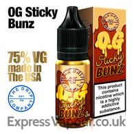 OG STICKY BUNZ - The Drip Company e-liquids - 75% VG - 10ml