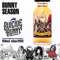 Bunny Season by Suicide Bunny e-liquids - 70% VG - 50ml