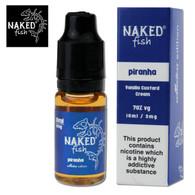 Piranha - Naked Fish e-liquids 70% VG 10ml