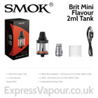 SMOK Brit Mini Flavour 2ml Tank