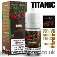 Titanic - Decoded Verified e-liquid 70% VG 10ml