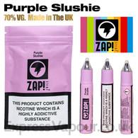 Purple Slushie by ZAP Juice e-liquid 70% VG 30ml