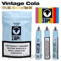 Vintage Cola by ZAP Juice e-liquid 70% VG 30ml