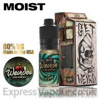 Moist - Weirdos Creamery e-liquid 80% VG 10ml