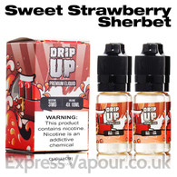 Strawberry Sherbet - Drip Up e-liquids 70% VG 40ml