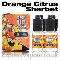 Orange Citrus Sherbet - Drip Up e-liquids 70% VG 40ml