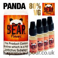 PANDA - Bear Flavor e-liquid - 80% - 40ml