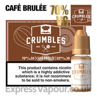 Café Brulée - Crumbles e-liquid - 70% - 30ml