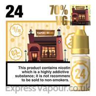 Recipe 24 - VaporWorks e-liquid - 70% - 30ml