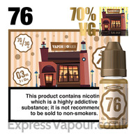 Recipe 76 - VaporWorks e-liquid - 70% - 30ml