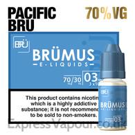 Pacific Bru - BRUMUS e-liquid - 70% - 30ml