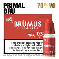 Primal Bru - BRUMUS e-liquid - 70% - 30ml