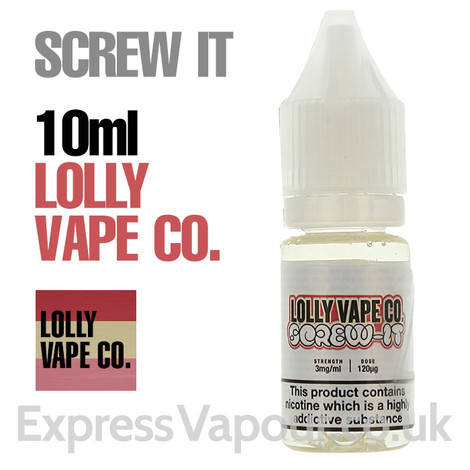Screw It by Lolly Vape e-liquids 80% VG - 10ml