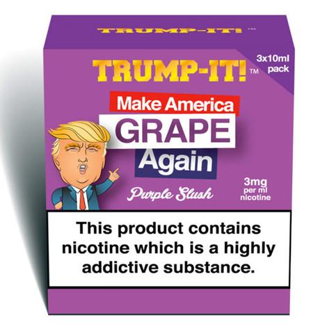 Make America Grape Again - Trump-It e-liquid 70% VG 30ml