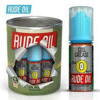 Coil Grease - Rude Oil e-liquid 80% VG 30ml