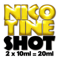 20ml unflavoured 18mg nicotine shots