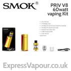 SMOK PRIV V8 60watt Vaping Kit