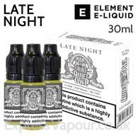 Late Night - Quiet Owl eliquid by Element - 30ml