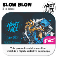 Slow Blow - Nasty Juice e-liquid - 70% VG - 50ml
