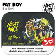 Fat Boy - Nasty Juice e-liquid - 70% VG - 50ml