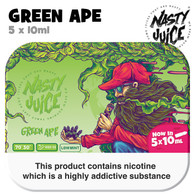 Green Ape - Nasty Juice e-liquid - 70% VG - 50ml