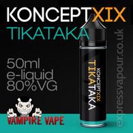 TikaTaka - Koncept XIX e-liquid - 80% VG - 50ml