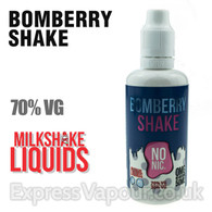 BOMBERRY SHAKE by Milkshake e-liquid - 70% VG - 50ml