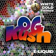 OG Kush - White Gold Formula e-liquid 60% VG - 10ml