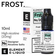Frost - ELEMENT NS20 high nicotine e-liquid - 10ml