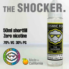 THE SHOCKER - Cosmic Fog premium e-liquid - 70% VG - 50ml