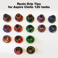 Replacement Resin Drip Tip - for Aspire Cleito 120 tank
