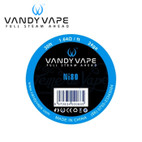 Vandy Vape Reel of Wire - Ni80 in three grades : 24ga, 26ga and 28g